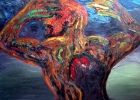 Lucius Pax : Medium Sized Painting 2005 5 : Torres Daxler : oil on linen : 150 x 100 cm : untitled