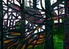 Lucius Pax : Medium Sized Painting 2005 2 : Torres Daxler : oil on linen : 150 x 100 cm : untitled