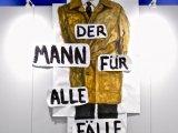 Lucius Pax : Art The Hague : 2018 : acrylic on paper :  380 x 180 cm : Title : Der Mann  für alle  Fälle