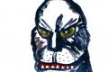 Lucius Pax : Small Painting 2012 31 : Torres Daxler 32 : pencil & gouache on paper : 65 x 50 cm : title : Inzwischen, in einer anderen Zeitzone und einem anderen Universum, wird ein Ungeheuer wach, weil es sehr schwach aber doch deutlich genug das Wort 'Ungeheuer' hörte aus dem Mund eines Menschen des Planeten Erde.